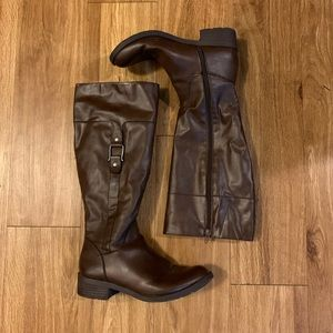 Style & Co Tall Brown Boots